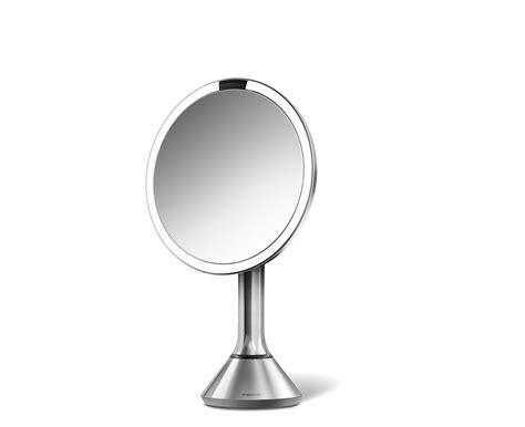 simplehuman lighted makeup vanity mirror