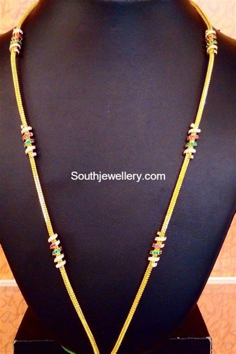 chain models  thaali gold chain design  carat gold