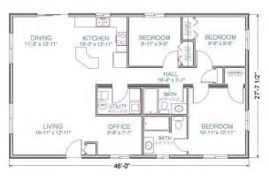 1 Floor 1200 Sq Ft Cabin - floor plans 1200 sq ft ranch