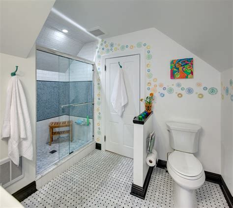 teenage bathroom super cute teen bath eclectic bathroom new york