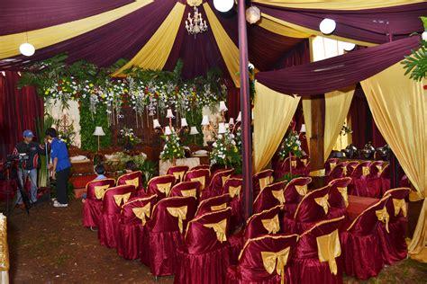 paket tenda pernikahan untuk diacara pernikahan dirumah atau digedung