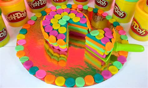 play dough decorations play doh birthday cake dessert playdough