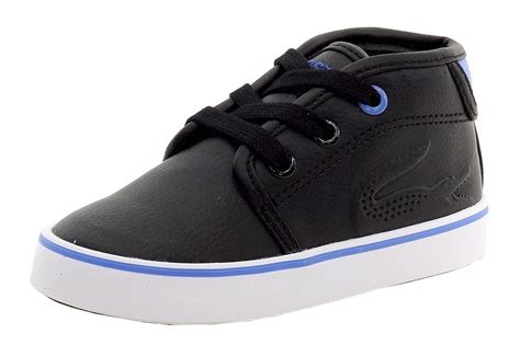 toddler boy high top sneakers lacoste toddler boy s thill 116 fashion high top