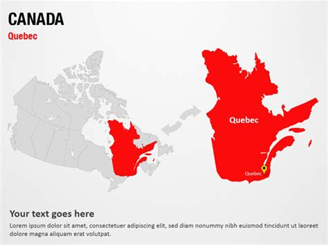 canada powerpoint template canada powerpoint map slides canada