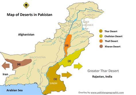 map of deserts unseen of pakistan desert area s