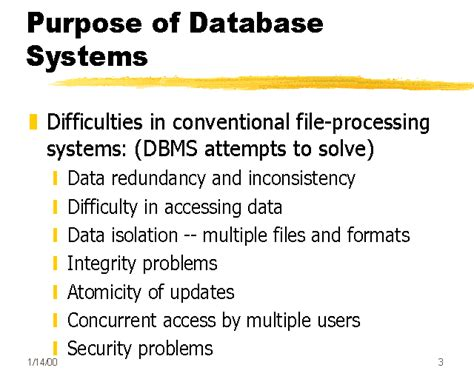 what is the purpose of a template purpose of database systems