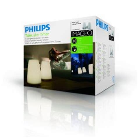 philips imageo table lights philips imageo tablelights white 2 set 69110 60 ph