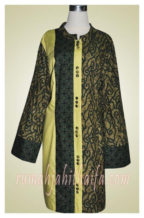 Tunik Katun Ima Toyobo 014 tunik batik ibu dian asih di depok rumah jahit haifa
