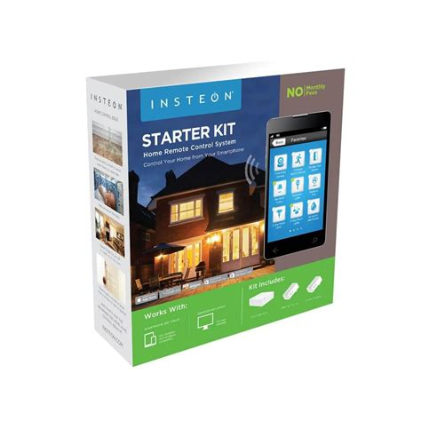 insteon home automation starter kits smarthome