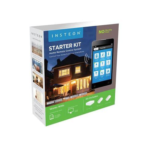 insteon home automation starter kits smarthome