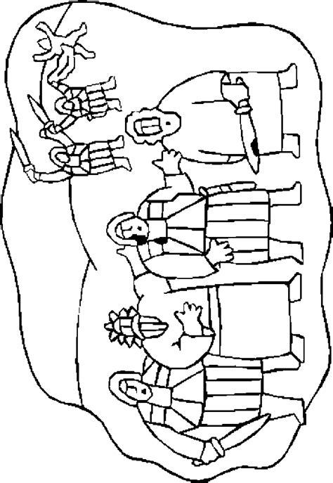 coloring page jesus arrested jesus sepultado para pintar imagui