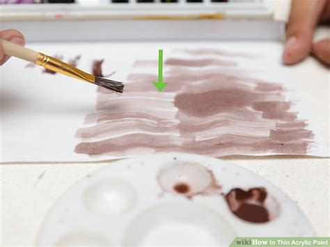 acrylic paint how to thin how to thin acrylic paint 14 steps with pictures wikihow