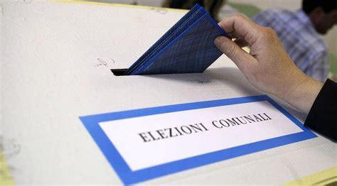 elezioni interno elezioni amministrative viminale si vota domenica 11