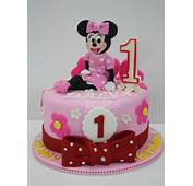 Minnie Mouse Cake For Dalya's 1st Birthday