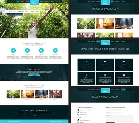 15 Free Amazing Responsive Business Website Templates Free Responsive Dreamweaver Templates