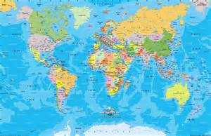 Map of asia map of the world physical