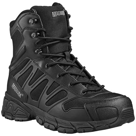 Sepatu Magnum Army Tactical Boots magnum uniforce 8 0 tactical security boots army mens footwear black ebay