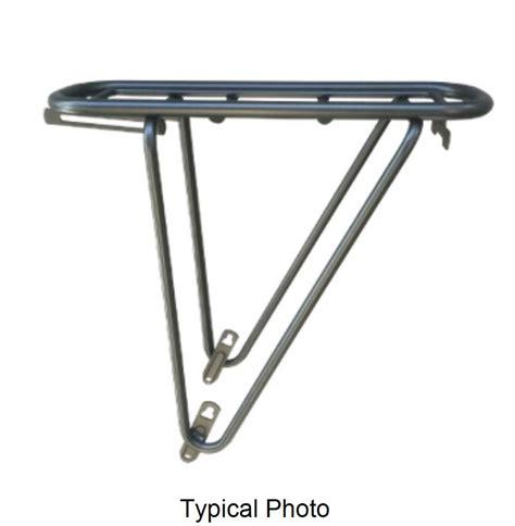 Silver Rear Bike Rack by Thule Yepp Bike Luggage Rack For 28 Quot Bike Rear 77 Lbs
