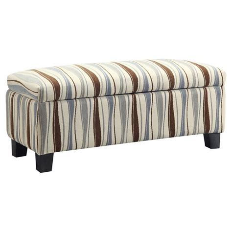 1000 Images About Storage Ottomans On Pinterest Striped Ottoman