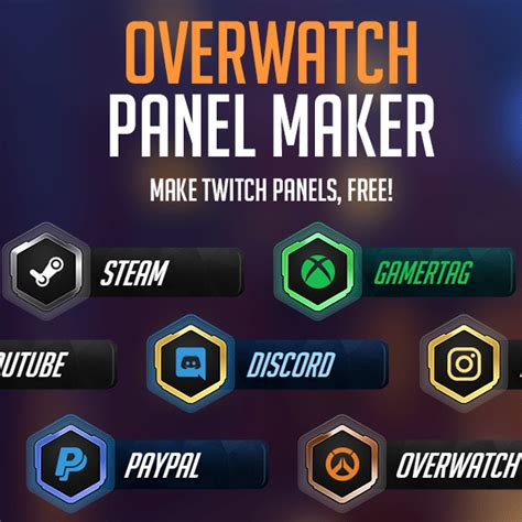 Twitch Giveaway App - overwatch twitch panel maker nerd or die