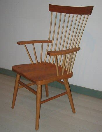 spindle back armchair spindle back arm chair richard bissell fine woodworking putney vt