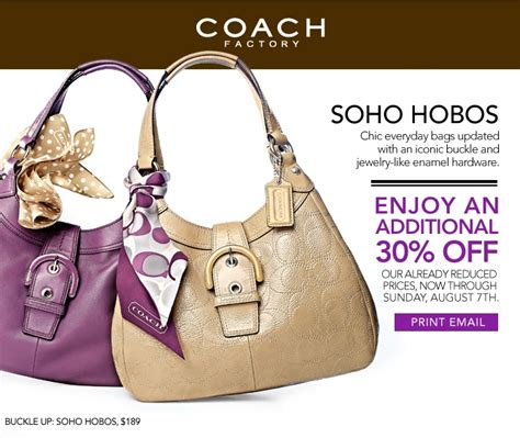l factory outlet coupon coach factory outlet coupon 30 off through 8 7