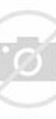 Contoh model baju gamis batik modern kombinasi