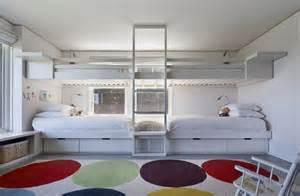 美式儿童房卧室上下铺床装修效果图大全2012图片土