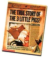 Zoetoys 3d Book Three Pig jon scieszka fractured fairytales and fables