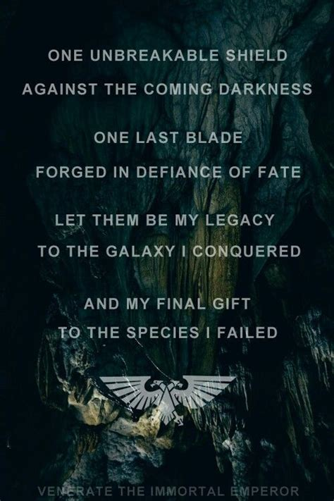The Kaiser Of Quotable Quotes by 25 Best Ideas About Grey Knights On Space