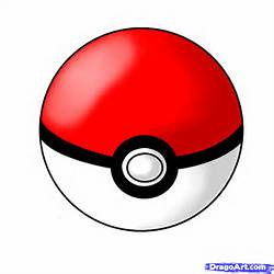 How To Draw A Pokeball Step By Pokemon Characters Anime