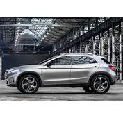Powering The Mercedes Benz GLA Concept Was A Turbocharged 20 Litre