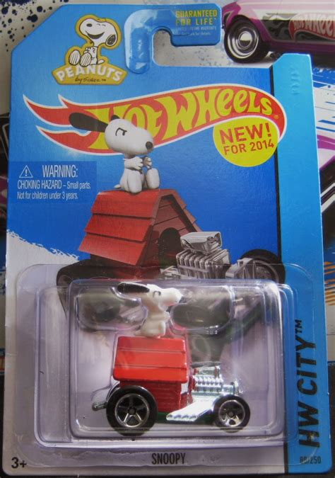 Hotwheels Hw City Snoopy Diecast Murah 1 Humwheels 2014 Wheels Snoopy