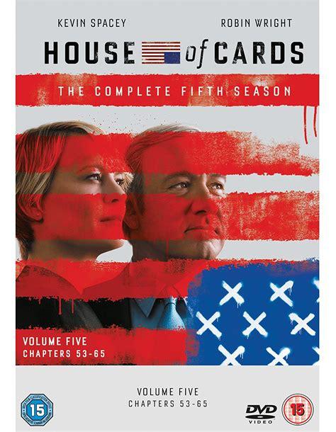 house of cards season 5 house of cards season 5 dvd heyuguys