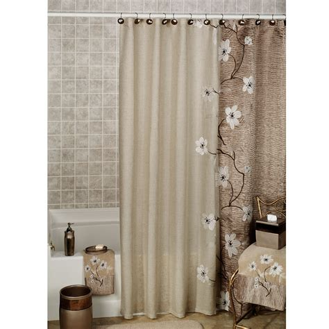 shower curtain for bathtub make your bathroom gorgeous with bathroom shower curtains