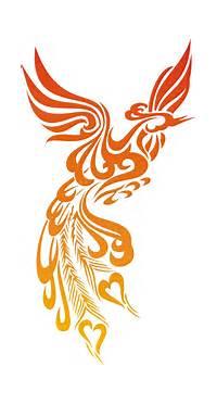 Tattoo Designs And Fonts Beautiful Fire Phoenix Tattoos 3d