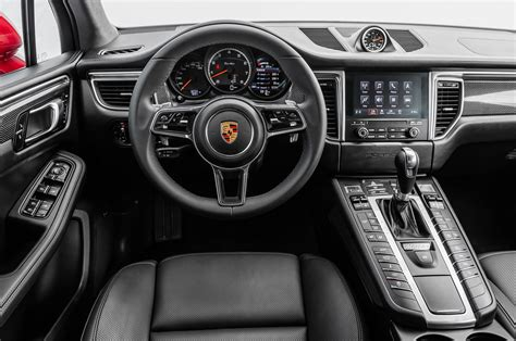2017 porsche macan turbo interior 2017 porsche macan turbo with performance package first