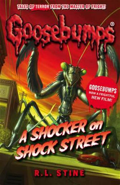books hive series a shocker on shock r l stine 9781407157283