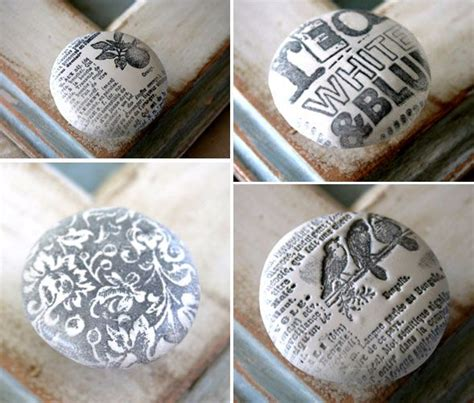 How To Decoupage Door Knobs - 17 best ideas about drawer knobs on living