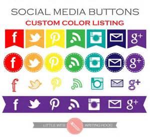 social media colors social media icons buttons tabs flags custom color