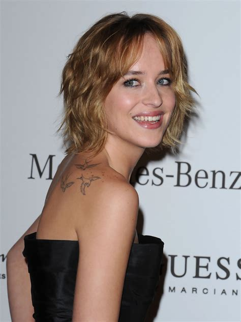 dakota johnson tattoos dakota johnson bird lookbook stylebistro