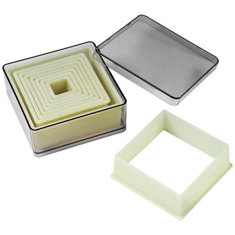 Cutter Square square cutter set just cake