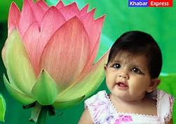 Beautiful Indian Baby Girl