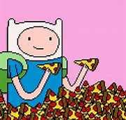 Adventure Time Pizza