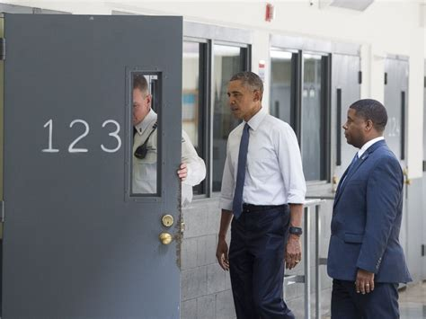 why did house go to prison what president obama saw when he visited a federal prison abc news