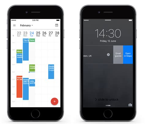 google images on iphone google calendar for iphone gets 7 day week view