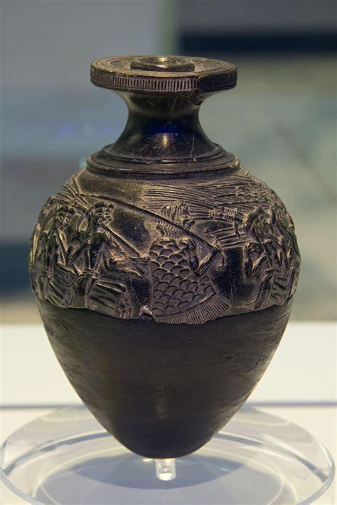Harvester Vase file harvester vase steatite agia triada 1450 bc amh