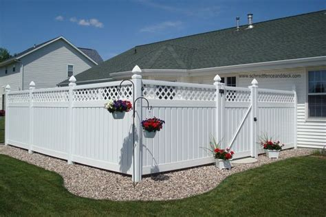 privacy fencing ideas for backyards white backyard fence google search back yard