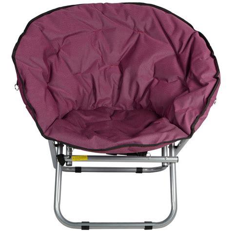 folding moon chair azuma padded folding outdoor garden cing festival