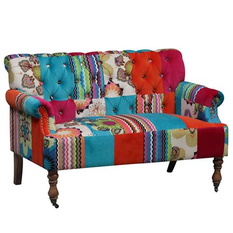 hippie couch hippy patchwork sofa